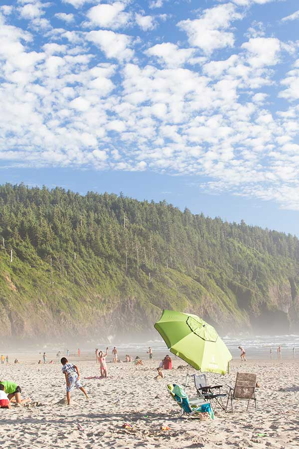 Tillamook County Three Capes Cape Lookout Beach