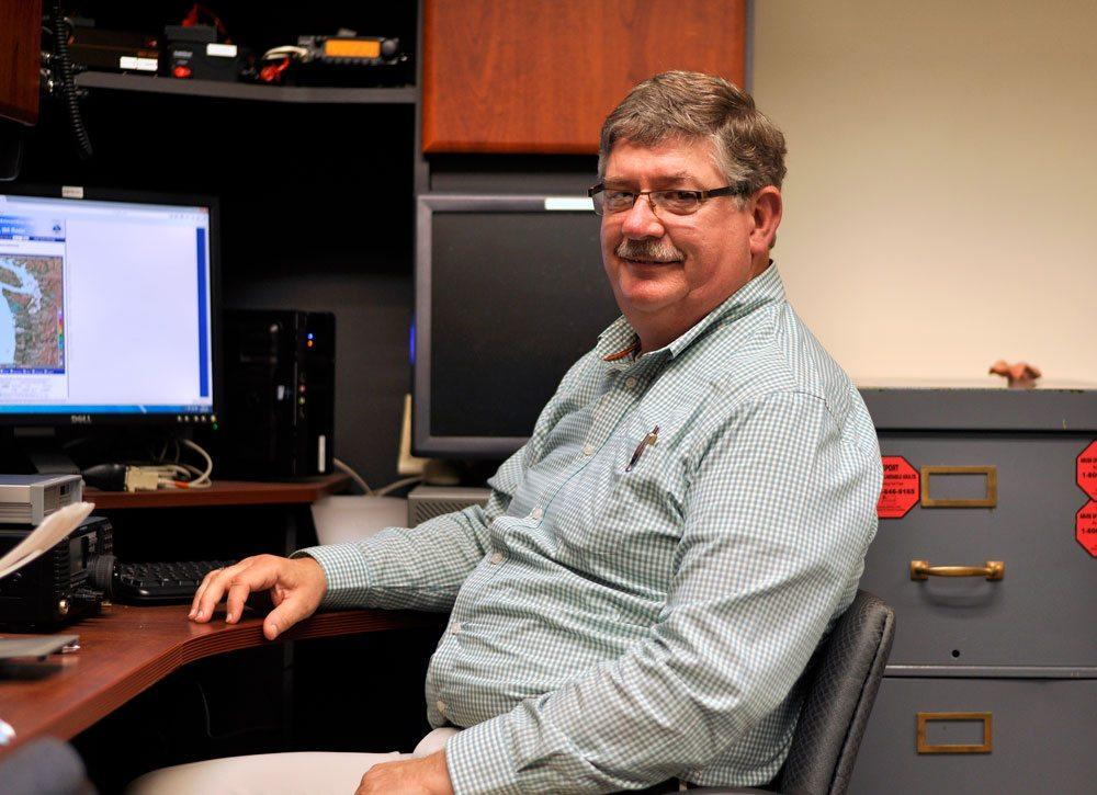 Gordan McCraw weather computer
