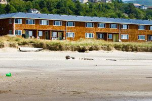 Motel off the beach