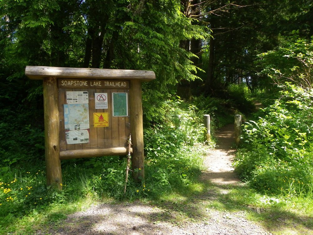 Soapstone Lake Trailhead