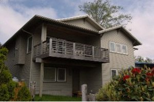 Two-story rental home in Netarts Bay