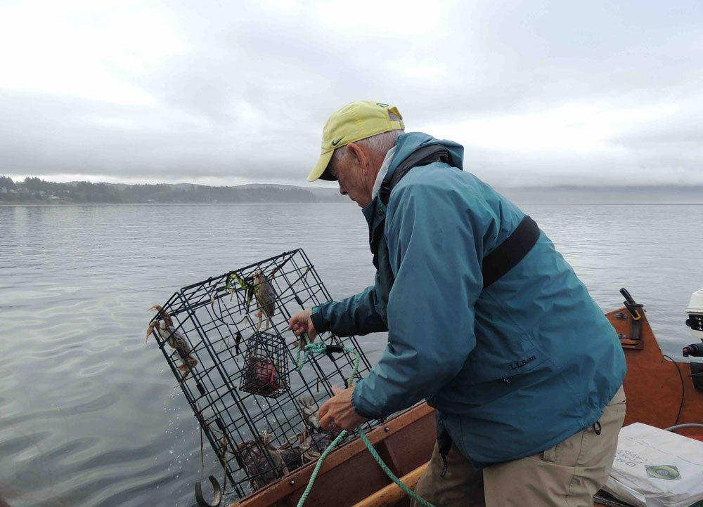 Crabbing