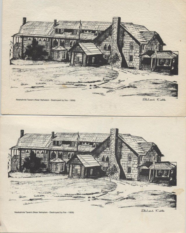 Neahkahnie Tavern Postcard