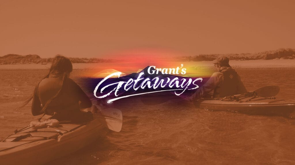 Grant's Getaways perfect paddle