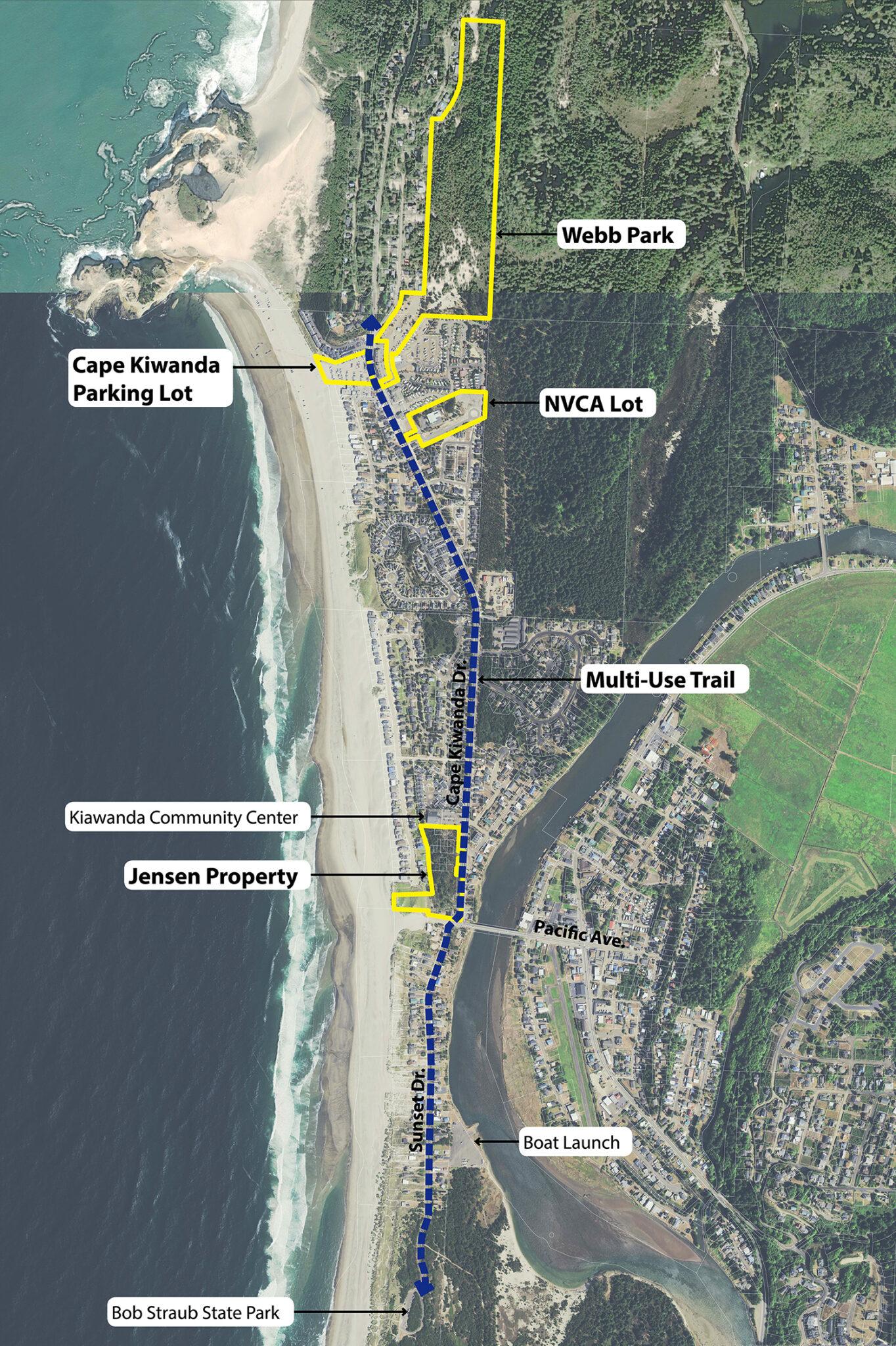 kiwanda corridor map 2021 08 20